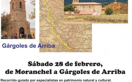 Cartel camino Moranchel-Gárgo...