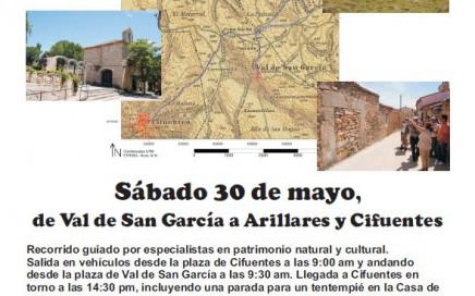 Cartel camino Val-Arillares-Cifuentes 30mayo2015
