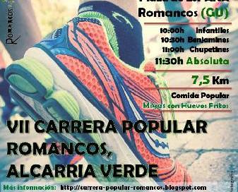 IV carrera Romancos
