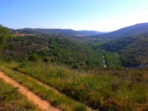 Panorámica del valle del Tajuña