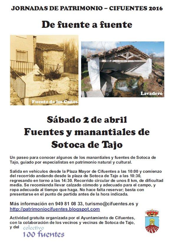 Cartel fuentes Sotoca 2abril2016